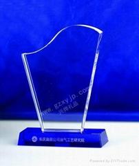 醫院優秀護士水晶獎牌