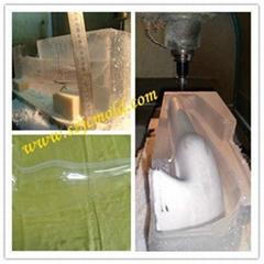 Transparent PMMA CNC rapid prototype