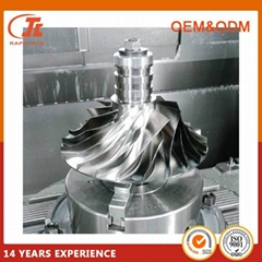 5 axis custom cnc aluminum part