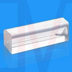 square glass tube fiber ferrule quartz rectangular capillary customized