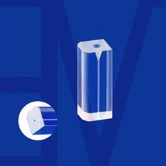 D-type glass tube fiber ferrule rectangular capillary customzied