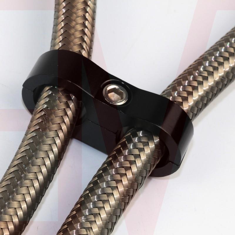 AN 4AN 6AN 8AN 10AN 12AN hose line separator clamp bracket 4