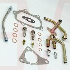 涡轮水管+油管+垫片+接头套装 适用于斯巴鲁SUBARU EJ20 EJ25 TD04 TD05 TD06