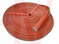 Flame-retardant Fire Proof Heat Resistant Silicone Glassfiber Sleeve Hose 15