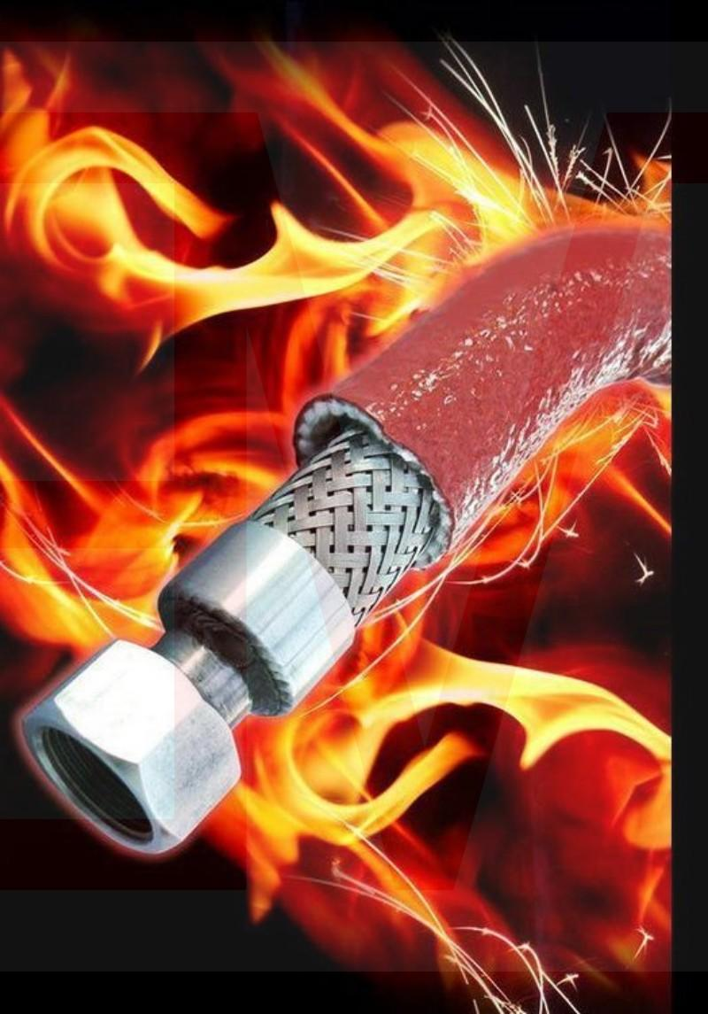 Flame-retardant Fire Proof Heat Resistant Silicone Glassfiber Sleeve Hose 17