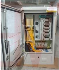 ODF Optical fiber distribution frame box cross-connection network cabinet