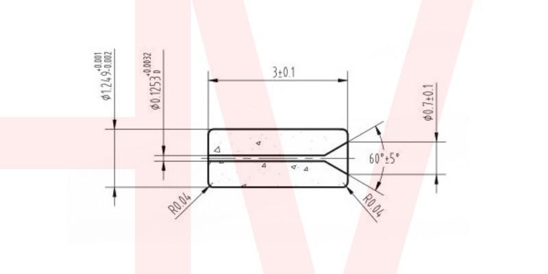 optical fiber zirconia ceramic ferrule customized 14