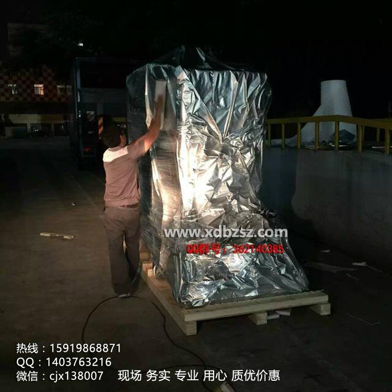 重型設備真空出口木箱 1