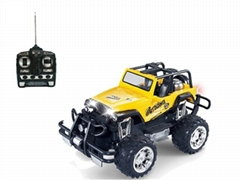 1:14 Radio control toys car 4-CH with lights