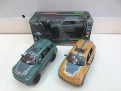 1:18 Radio control car toys 4-CH with lights