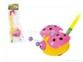 Sliding toys Ladybug plastic toys