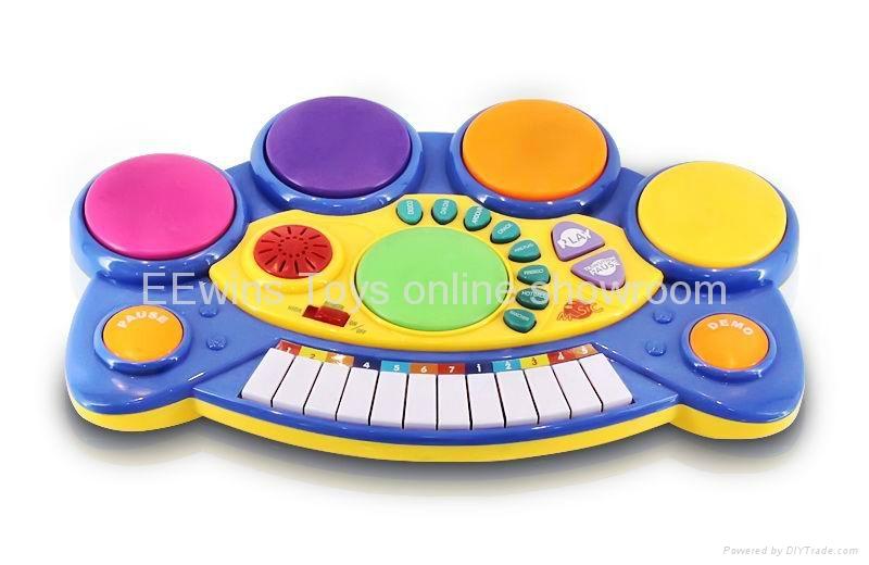 Multifunction electronic musical toys keyboard 1