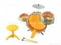 Musical toys Jazz drum by iron sheet