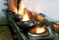 餐饮业酒店餐厅专用不锈钢双炒单温灶生产厂家 4