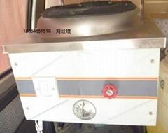 甲醇燃料单炒灶饭店单灶烧醇基燃料的不锈钢灶