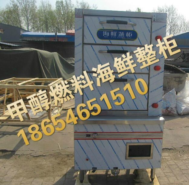 生物醇油海鲜蒸柜酒店海鲜柜醇基燃料整柜 3