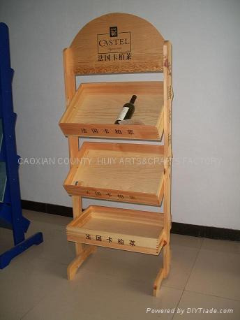 Wooden wine rack 1