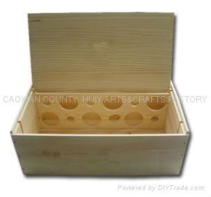 Wooden box 12 bottle box 1