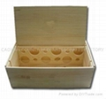 Wooden box 12 bottle box