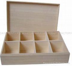 木製茶葉盒