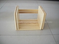 Wooden book rack /shelf