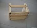 Wooden book rack /shelf
