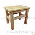 Wooden small desk square desk