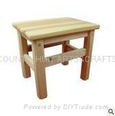 Wooden small desk square desk