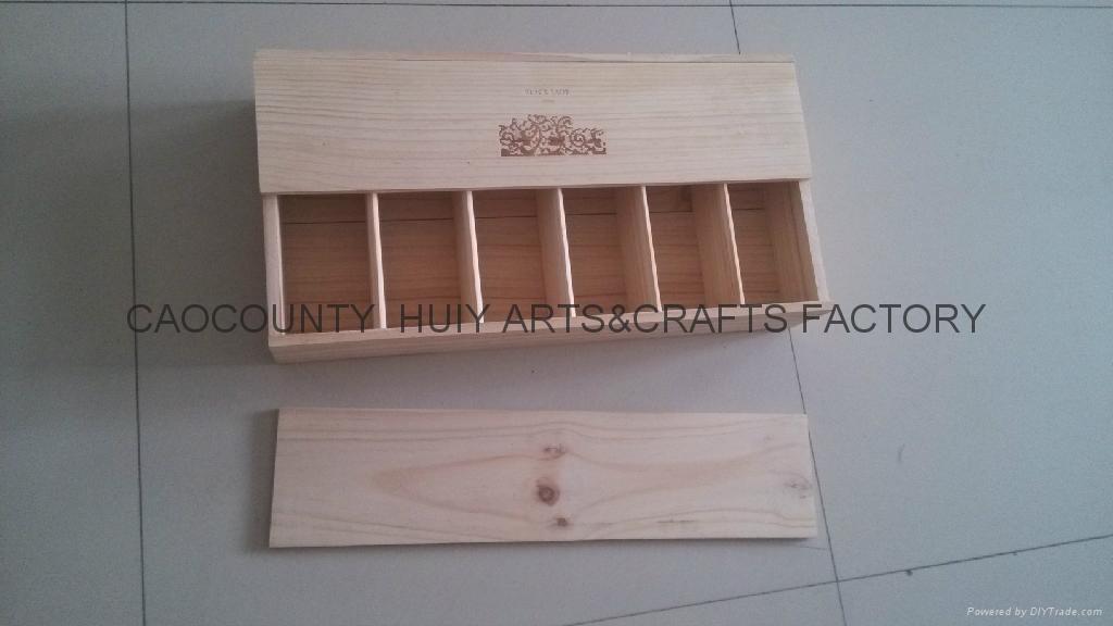 紅酒木箱,6支木箱 2