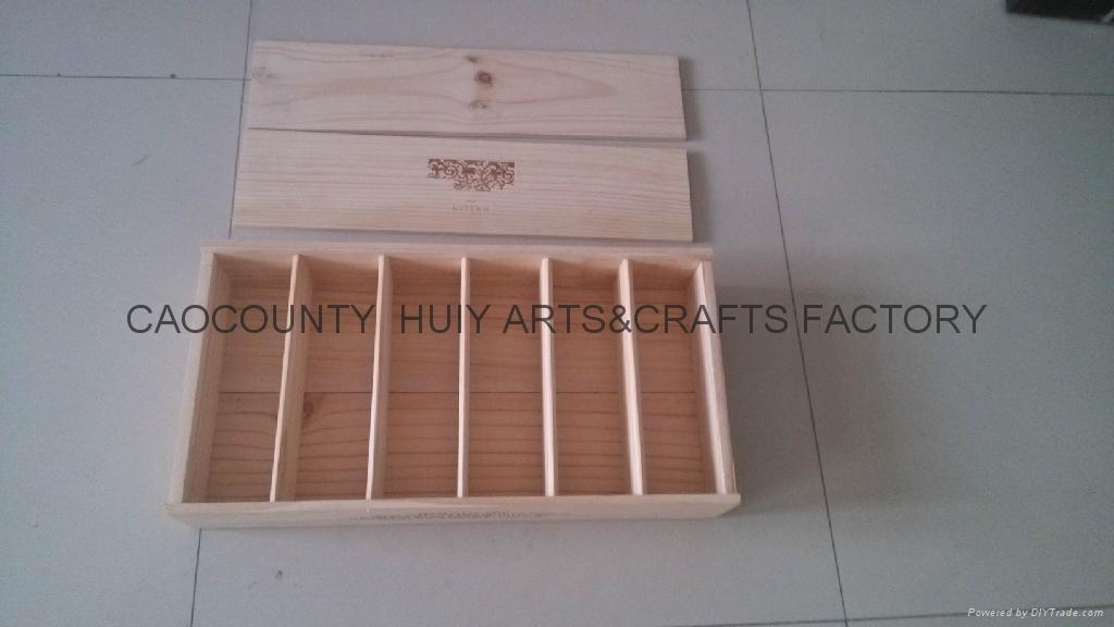紅酒木箱,6支木箱 3