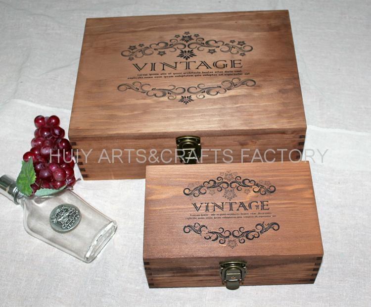 復古木盒子,鄉村田園風格木盒,收納盒 1