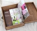 復古木盒子,鄉村田園風格木盒,收納盒 3