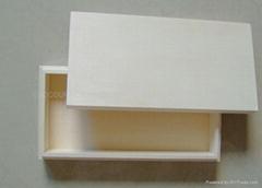 wood chocolate box