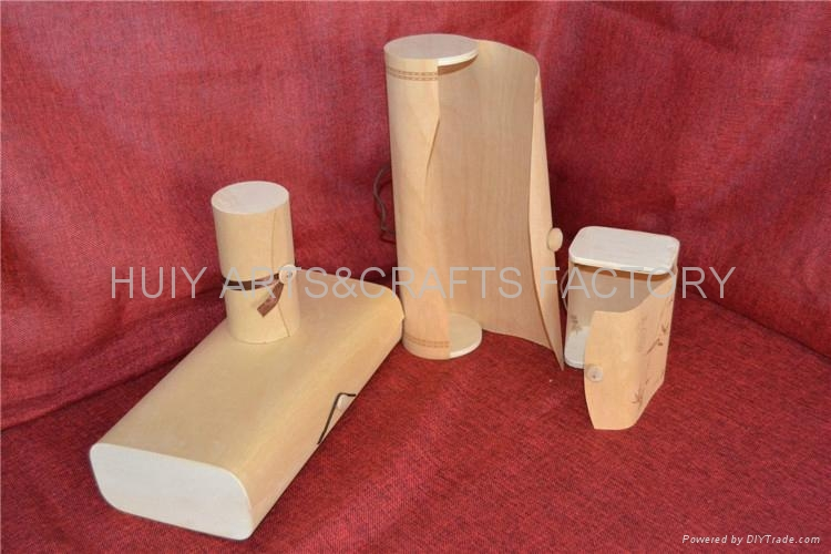 Flexible veneer box for wine bottle,golf ,cigar and other gifts 2