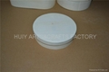 Round shape square shape wooden box for cupcake,cheese,bread or candy