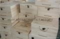 6 bottle wooden wine crate