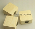 2014 new design small pine wood gift box