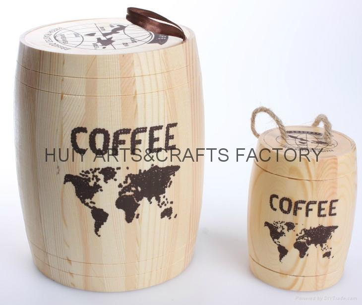 Mini Coffee bean barrel wholesale 1
