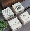 Small gift box promotional wooden gift box  3