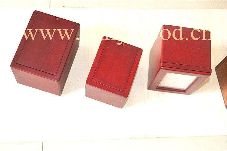 Pet memorial urns/wood cremation caskets 4