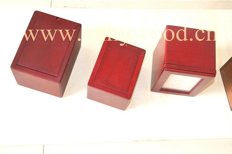 European style wood pet urns 3