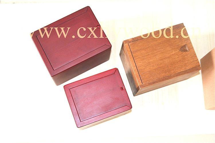 European style wood pet urns 4