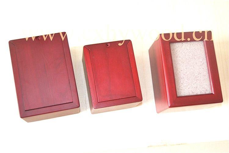 European style wood pet urns 5