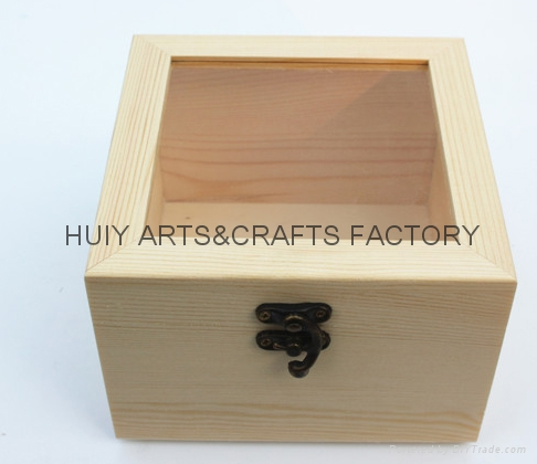 Promotion gift box wooden jewelry box jewelry box container 5
