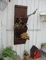 Wooden garden flower planters and pots               2