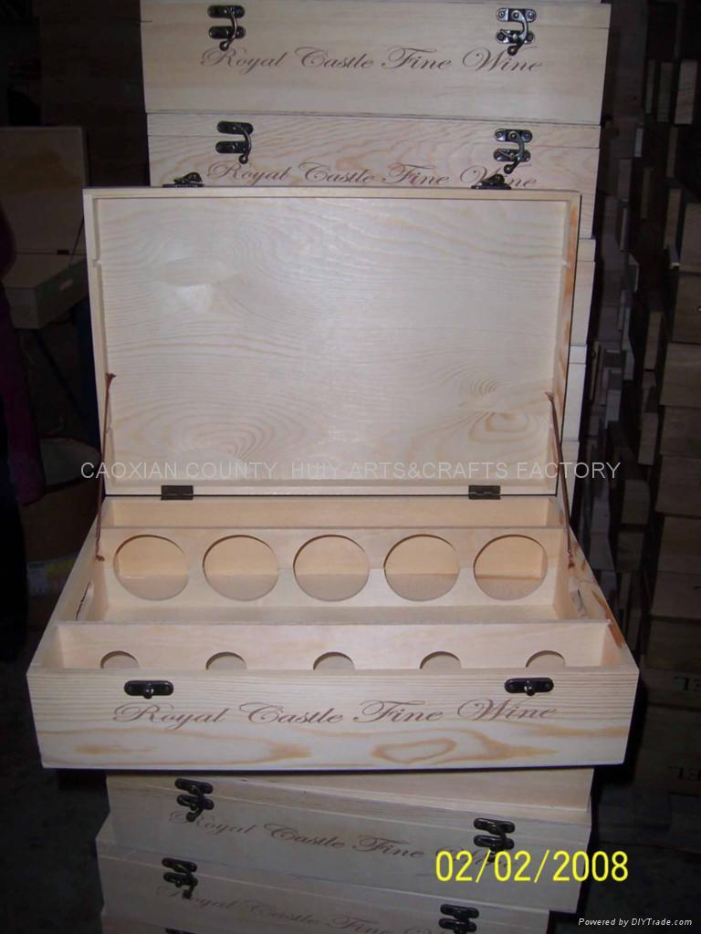 Five bottle wine box 1