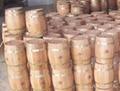 Celar lacquered wooden wine barrel