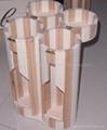 hot sale,popular 2-bottle wooden wine box
