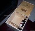 wooden 6 bot box