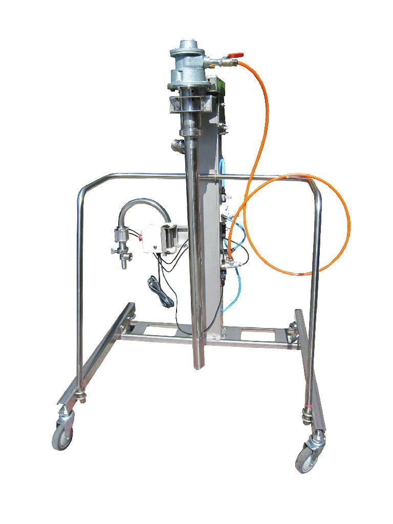 气动螺杆式高黏泵浦  2